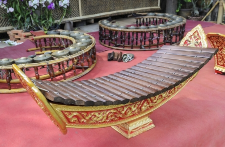 tuneful: thai xylophone Editorial