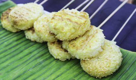 Toast rice Stock Photo