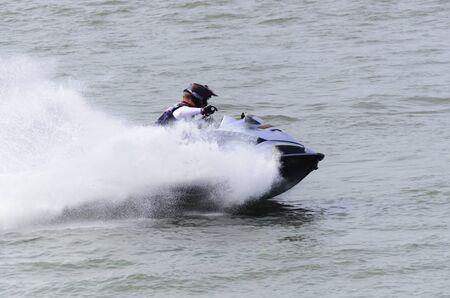 jetski racing in the river