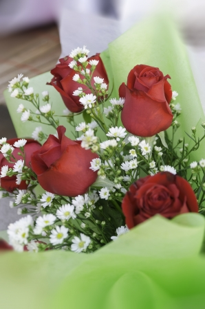 rose bouquet using in wedding or any greeting ceremony