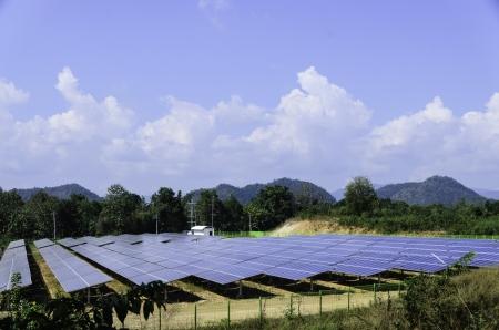 Solar cells for renewable energy development