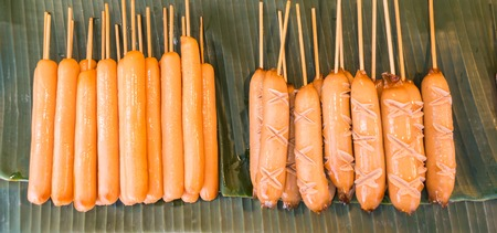 Hotdog sold in food stores at Food Festival