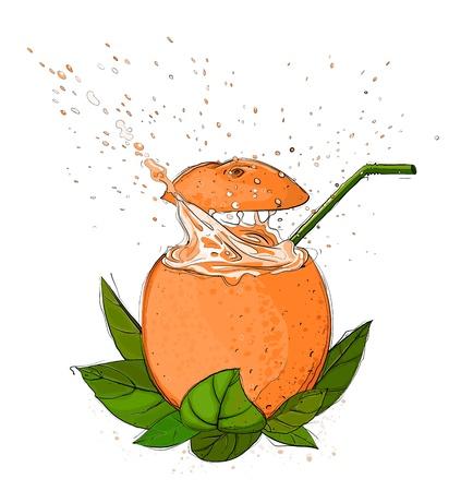 splashy: Orange Juice Splash