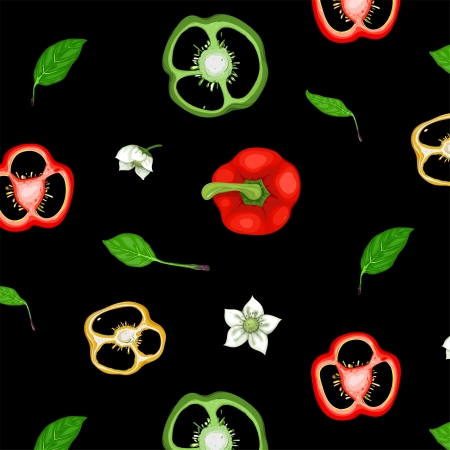flavoring: Paprika Sweet Pepper Seamless Background