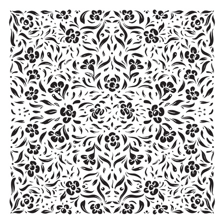 Vintage Flowers Ornament Background Stock Vector - 19861894