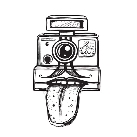 inky: Inky teasing snapshot photography Illustration