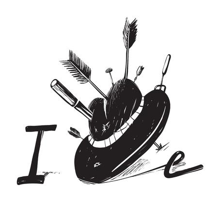 inky: Inky hand-drawn inscription