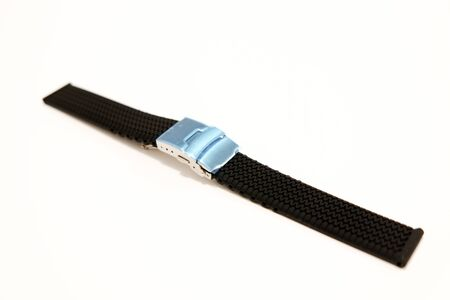 silicone watch strap object isolate on the white background