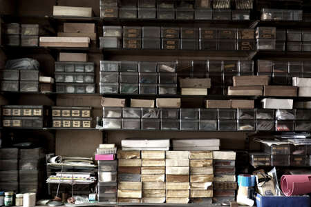 vintage retail display old watch shop