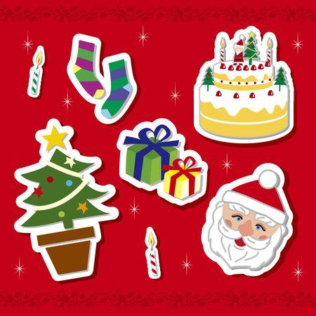 Christmas motif Illustration