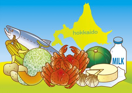 The Blessings of Hokkaido Vectores