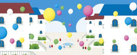 Housing Stock Illustratie