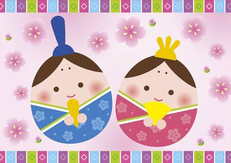 Hinamatsuri Illustration