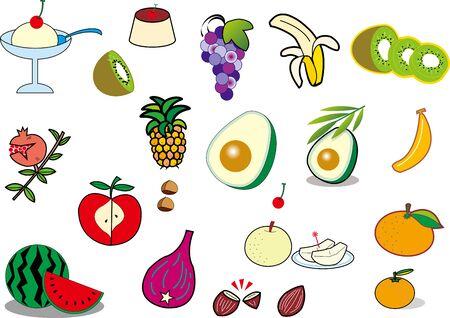 Fruit  イラスト・ベクター素材