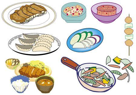 Food Stock Vector - 128475051