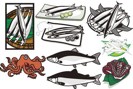 Seafood 4 Çizim