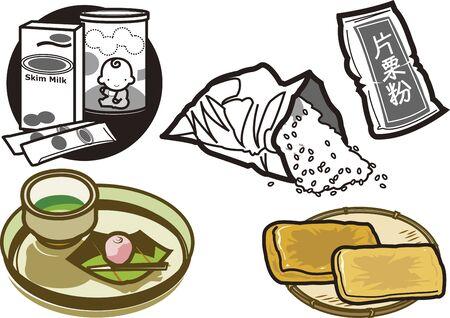 Food 10 Illusztráció