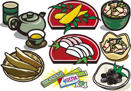 Food 2  イラスト・ベクター素材