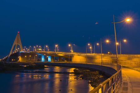Dapeng Bay Bridge 免版税图像