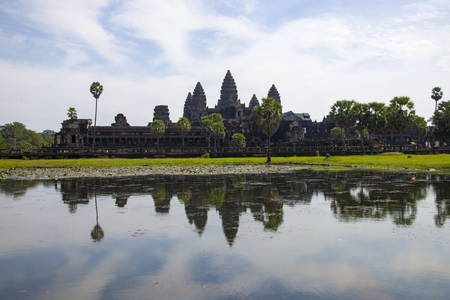 reverence: Angkor Thom reflection