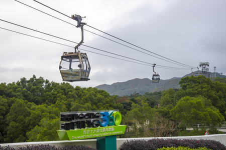 actividades recreativas: Ngong Ping Cable Car