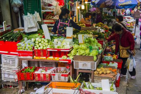 Hong Kongs traditional bazaar