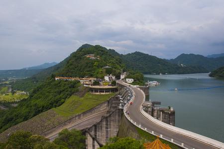 Shimen Reservoir 스톡 콘텐츠
