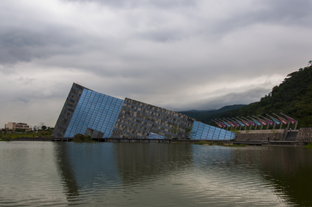 Lanyang Museum at the local area in Toucheng Township, Yilan County, Taiwan