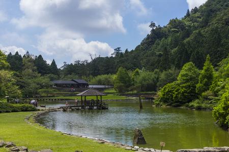 Yilan County , Taiwan-Mingchi Forest Recreation Area