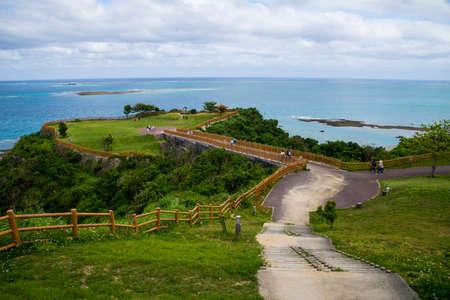 chinen misaki park in Okinawa, Japan