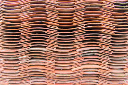 Lots of tiles are neatly arranged 免版税图像