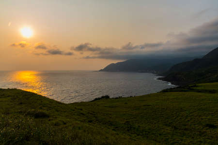 Sunny beach in Lanyu Taiwan