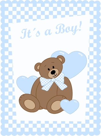 soft toy: It´s a boy!