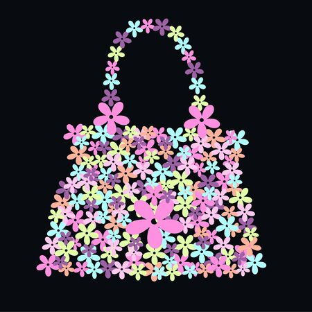 flower bag Stock Vector - 7579666