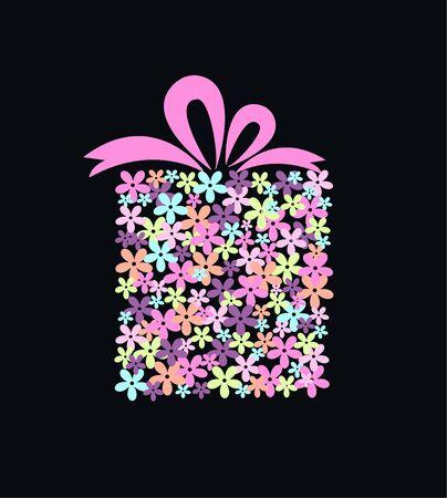 uitnodigen: bloem gift