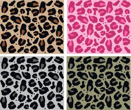 seamless animal pattern Stock Vector - 7579665