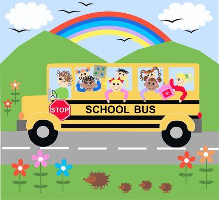 school bus Stock Vector - 7716679
