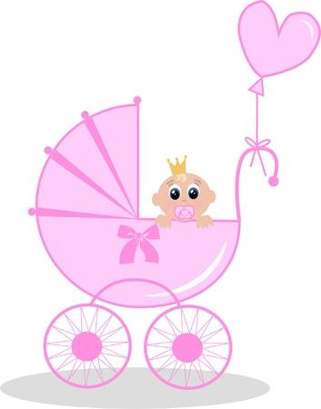 dummies: newborn baby girl