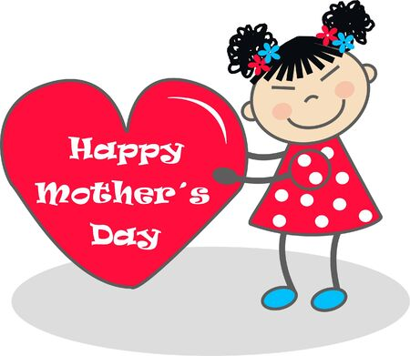 happy mother´s day Stock Vector - 7822510