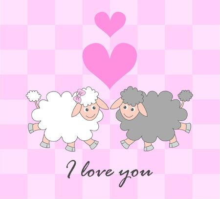 sheep love: Te quiero