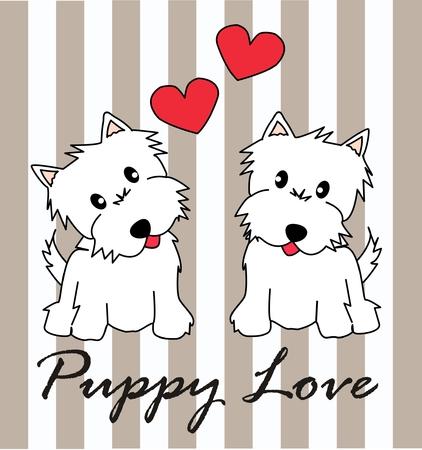 puppy love: puppy love
