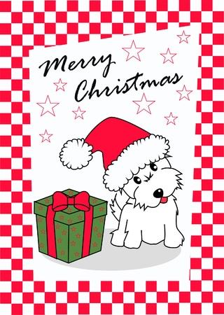 tarjeta de Navidad feliz