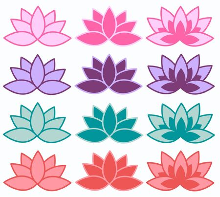 henna pattern: lotus flowers