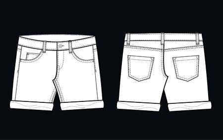 shorts Stock Vector - 8178094