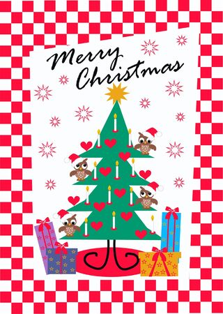 merry christmas Stock Vector - 8195891