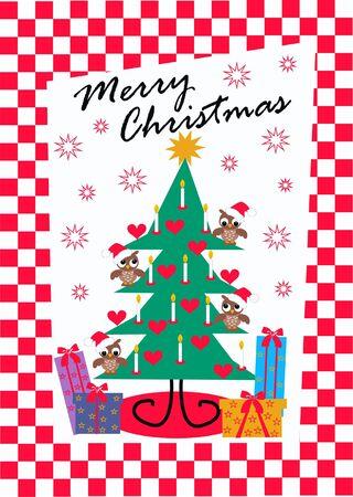 merry christmas Stock Vector - 8195891