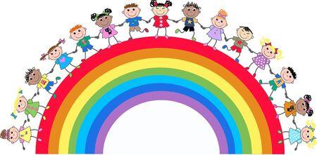 ethnicity happy: mixed ethnic kids