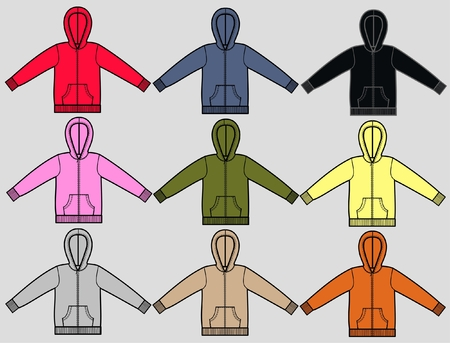 hoodies Stock Vector - 8266349