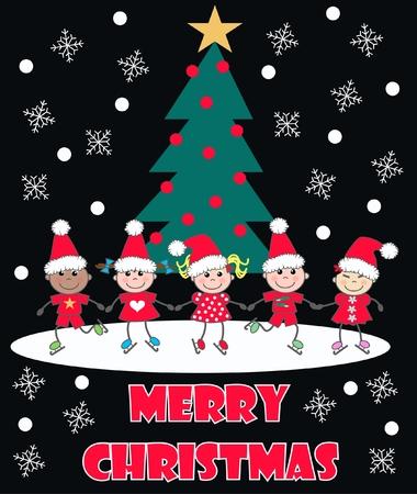 christmas card Stock Vector - 8302351