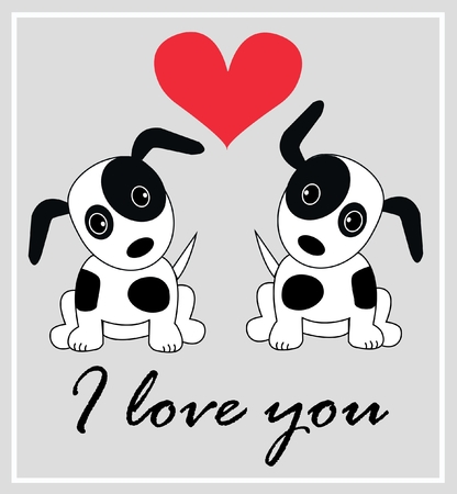 I love you Stock Vector - 8499220